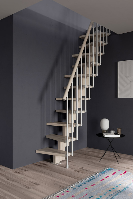 escalier gain de place escalier pas japonais. Black Bedroom Furniture Sets. Home Design Ideas