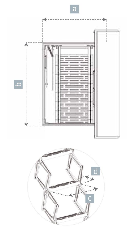 Scala retrattile da terrazza scala per terrazzo a pantografo - Scale chiocciola dimensioni ...