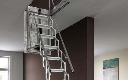 escaliers escamotables archivi scari scale. Black Bedroom Furniture Sets. Home Design Ideas