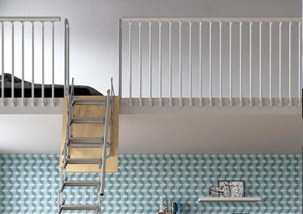 escalier escamotable pour mezzanine palco scari scale. Black Bedroom Furniture Sets. Home Design Ideas