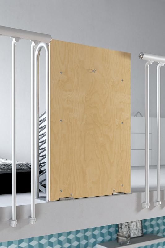 Très Escalier escamotable pour mezzanine: Palco - Scari Scale HD42