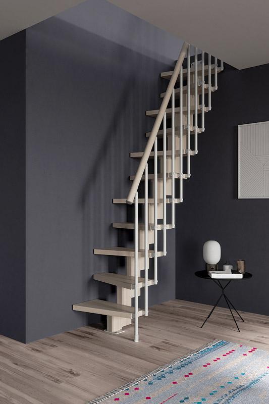 escalera ahorra espacio escalera para espacios reducidos. Black Bedroom Furniture Sets. Home Design Ideas