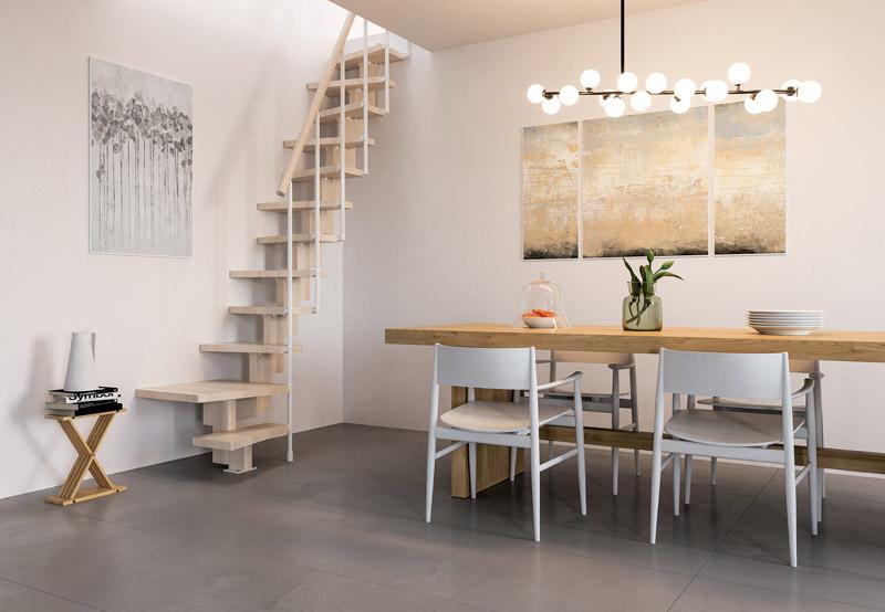 Escalera ahorra espacio escalera para espacios reducidos - Scale a chiocciola salvaspazio ...